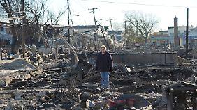 """Hurrikan hinterlässt Tausende Obdachlose: Auf """"Sandy"""" folgt die Kälte"""