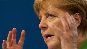 Gegen Kuhhandel-Vorwurf: Merkel verteidigt Betreuungsgeld