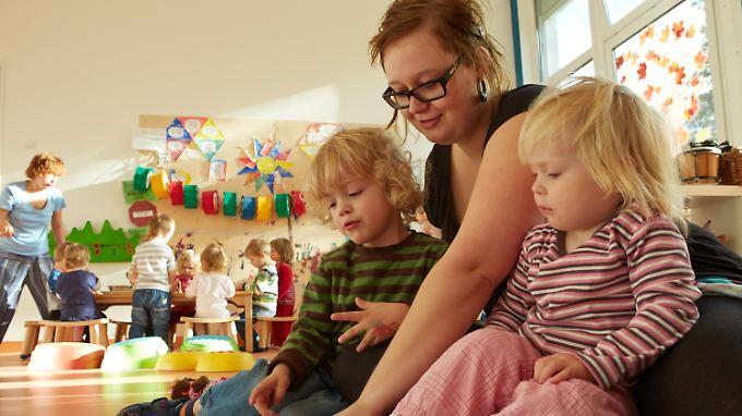 Inzwischen suchen mehr Eltern einen Betreuungsplatz.