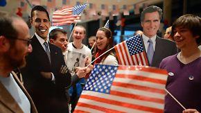 Bis zur letzten Minute: Obama und Romney geben alles