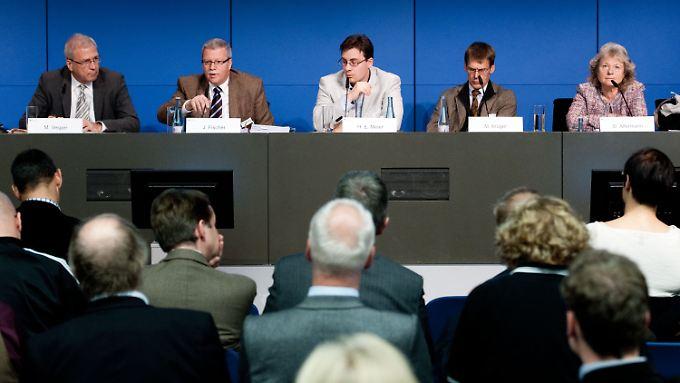 """In Berlin sollte über Ergebnisse der Studie """"Doping in Deutschland"""" gesprochen werden. Thema stattdessen: Warum ist das Projekt gescheitert?"""