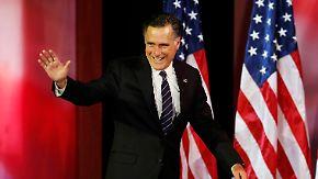 Der Präsident bleibt Präsident: Romney gratuliert Obama