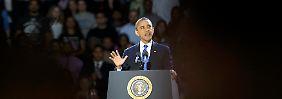 """""""Wir haben erbittert gekämpft, aber nur weil wir dieses Land so sehr lieben und weil wir so sehr um seine Zukunft besorgt sind"""", sagt Obama."""