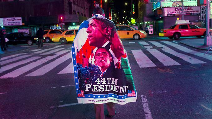 Die Wiederwahl von Barack Obama wird international begrüßt.