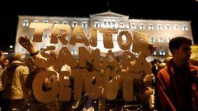 """Generalstreik in Griechenland: """"Wir haben die Nase voll"""""""