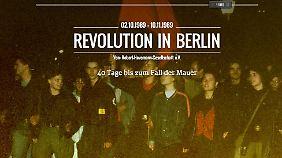 Die Online-Ausstellung der Robert-Havemann-Gesellschaft rückt die 40 Tage vor dem Mauerfall ins Zentrum.