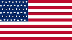 Mögliche US-Flagge mit 51 Sternen.