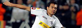 Verzückt die Fans: Mönchengladbachs Juan Arango.