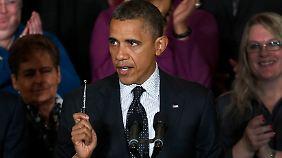 Obama will sich in der kommenden Woche mit den Spitzen von Demokraten und Republikanern im Kongress zusammensetzen.