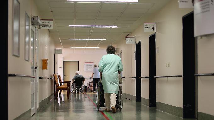 Im Vergleich zu 2010 stiegen die Kosten für einen Krankenhaus durchschnittlich um 2,5 Prozent.