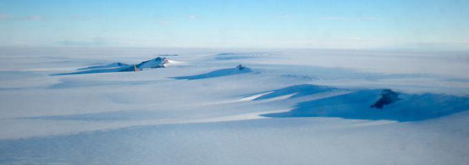 Heute ist die Antarktis der kälteste Ort der Welt - eine Eiswüste, größer als Europa.