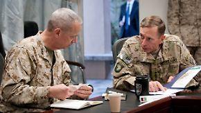 """30.000 Seite """"unangemessene"""" E-Mails: Pentagon ermittelt gegen General Allen"""