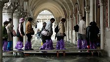 "Immer wieder ""Acqua Alta"": Wenn Venedig nasse Füße bekommt"