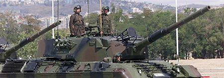 Deal für Yücels Freilassung?: Berlin genehmigte Türkei-Rüstungexporte