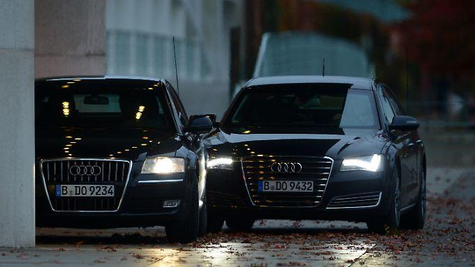 Transport um jeden Preis? Die Fahrzeuge, die den Abgeordneten zur Verfügung stehen, sind meistens von Mercedes, BMW oder Audi.