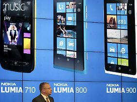 Neue Handys, neues Betriebssystem - neue Karten: Nokia.