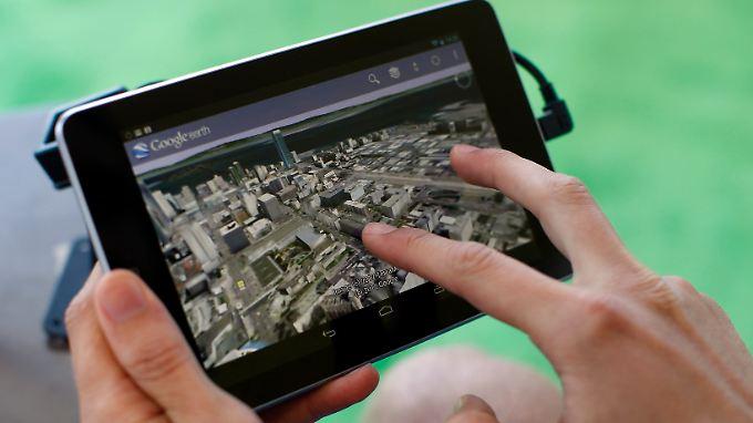 Beliebt: Das Nexus 7.