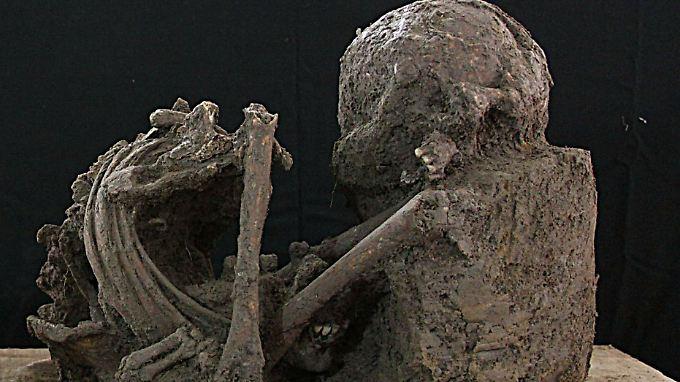 Schon 2011 wurden Maya-Knochen in Mexiko geborgen.