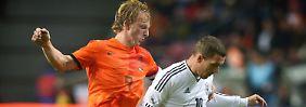 Nur 20 Minuten durfte Lukas Podolski gegen die Niederländer mitkicken. Zu wenig.