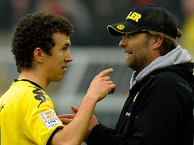 Uneinig: Ivan Perisic möchte gerne mehr spielen. Jürgen Klopp müsste ihn dazu öfter aufstellen.