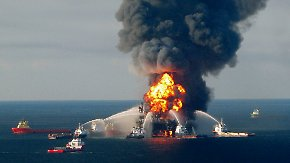 "Explosion der ""Deepwater Horizon"": BP zahlt Rekordstrafe"
