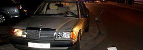 Mit diesem Mercedes war der Senior in Wetzlar unterwegs.