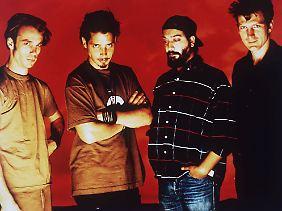 Soundgarden anno 1994: 18 Jahre später sind alle vier - Matt Cameron, Chris Cornell, Kim Thayil, and Ben Shepherd - auch wieder mit von der Partie.