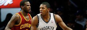 Allstar Joe Johnson ist einer der Stars der neuen Brooklyn Nets.