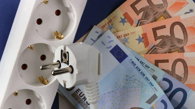 Durch die Strompreiserhöhung werden Milliarden in die Staatskasse gespült.
