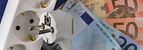 Strompreiserhöhung: Staat kassiert 3,4 Milliarden Euro