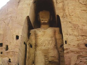 Die Taliban zerstörten bereits in Bamian einzigartige Buddhastatuen.
