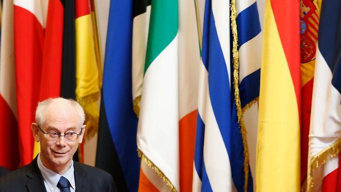 """Der Belgier Herman Van Rompuy will """"Beichtstuhlgespräche"""" mit den Staats- und Regierungschefs führen."""