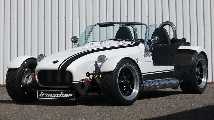 """Der Irmscher Roadster Turbo """"Supersport"""":  In dem Roadsters arbeitet ein 2,0-Liter-Turbomotor mit 265 PS und 400 Nm maximalem Drehmoment."""