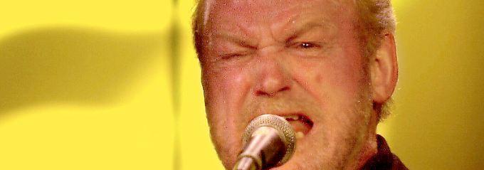 Joe Cocker auf der Bühne.