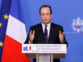 """Der Gipfel sei """"nützlich"""" gewesen, sagt Präsident Hollande."""