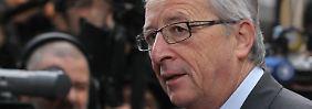 Dieser Mann bleibt ruhig, auch wenn er kocht: Jean-Claude Juncker.