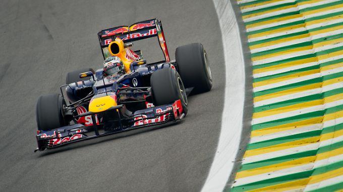 Sebastian Vettel fuhr im Qualifying nicht allen davon, aber immerhin Fernando Alonso.