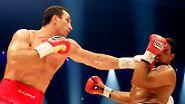 Erst Bilderbuch-K.o., dann Party: Klitschko knockt Chambers aus