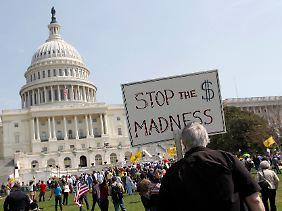 Die Atmosphäre ist aufgeheizt: Nach der Niederlage bei der Gesundheitsreform wollen die Republikaner erst recht nicht klein beigeben.