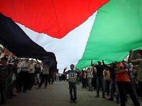 Anhänger der Hamas im Gazastreifen.