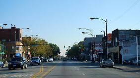 Innenstadtstraßen so breit wie Autobahnen: An Platz mangelt es auf amerikanischen Verkehrswegen sehr selten.