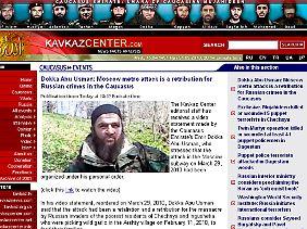 Im Internet kündigt Umarow weitere Anschläge an.