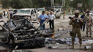 Blutiger Tag: Bombenterror erschüttert Bagdad
