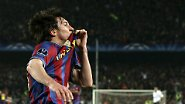 One-Man-Show im Camp Nou: Messi + Fußball = Kunst