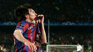 One-Man-Show im Camp Nou: Messi + Fußball = Kunst