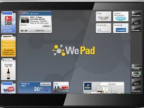 Programme oder Widgets können sich die Nutzer nach Belieben installieren - was läuft, darf drauf.