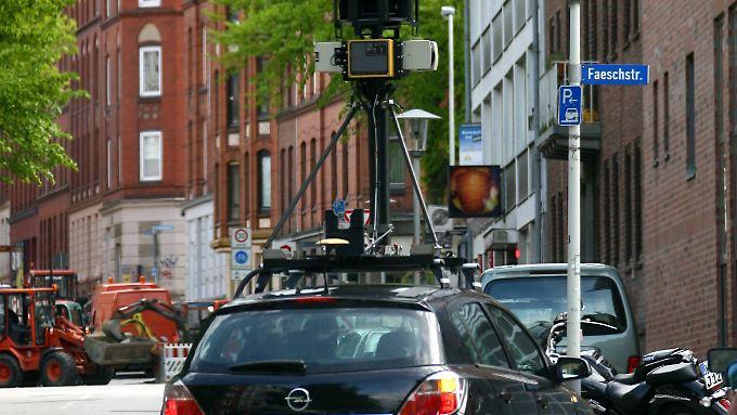 Neuer Ärger für Google: Street View erfasst private WLAN-Netze