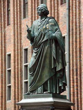 Kopernikus-Statue im polnischen Torun.