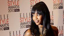 Wird sie nun auch sanfter?: Naomi Campbell feiert 40. Geburtstag