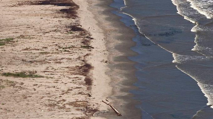 Louisiana musste bereits einen öffentlichen Strand schließen.